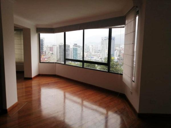 Sala principal vista lateral departamento bellavista