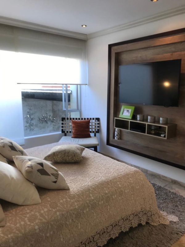 Dormitorio secundario casa Santa Inés