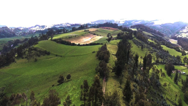 Tierras cultivables hacienda pasochoa sangolquí