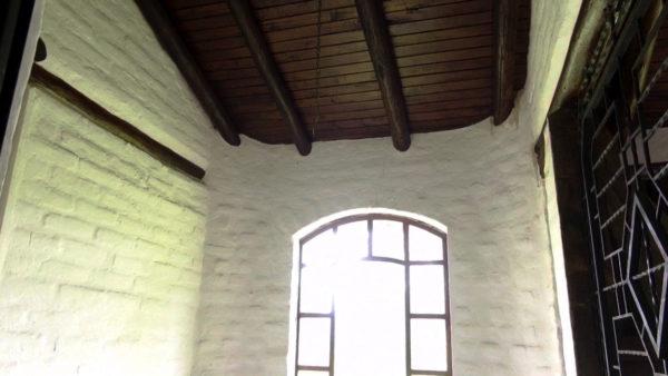 Vista escaleras casa hacienda pasochoa sangolquí