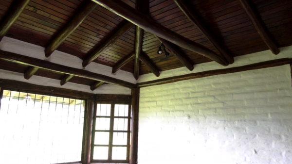 Tumbados sala de estar casa hacienda pasochoa sangolquí