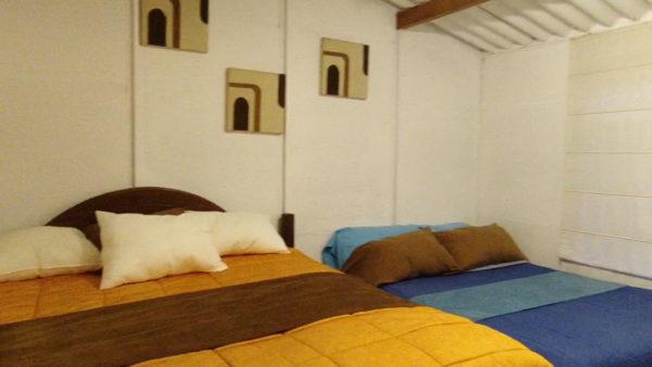 Hacienda Los Bancos - La Florida dormitorio2