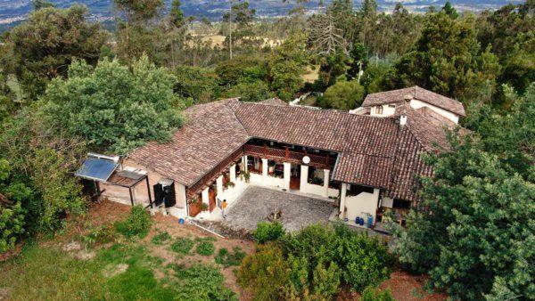 Hacienda Cotacachi Casa Principal