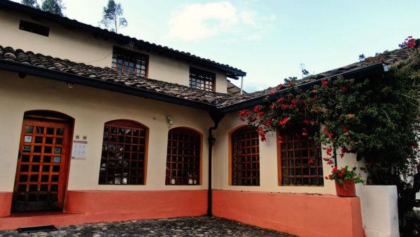 Hacienda Cotacachi Front