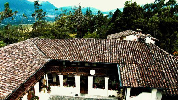 Hacienda Cotacachi Aerial